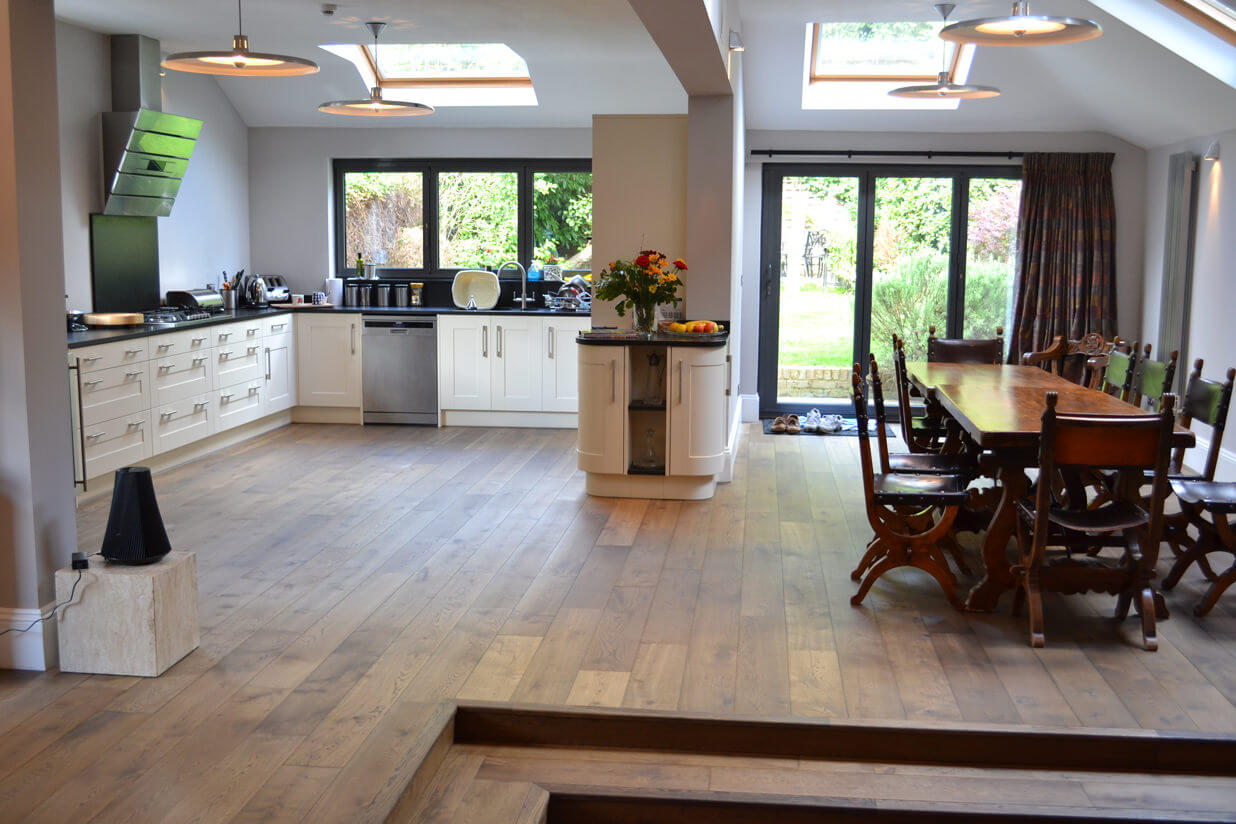 3 Oak Portfolio Our Projects Wood Floors In Ealing
