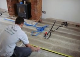 Wood Floor Installation (1)