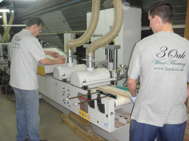 Wood Flooring Manufacturing Process