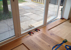 Wooden Floor Installation