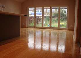 wood flooring finish