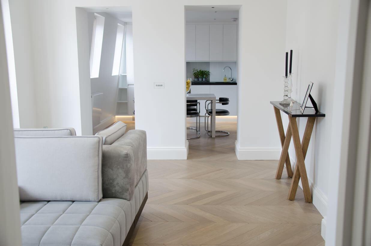 3 Oak Portfolio Project Chevron Oak Wood Flooring