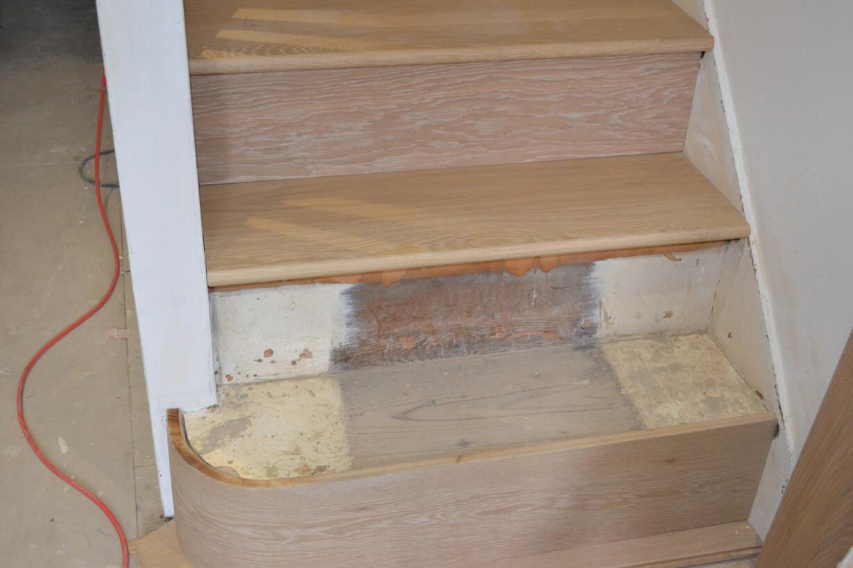 Oak Straicase Cladding