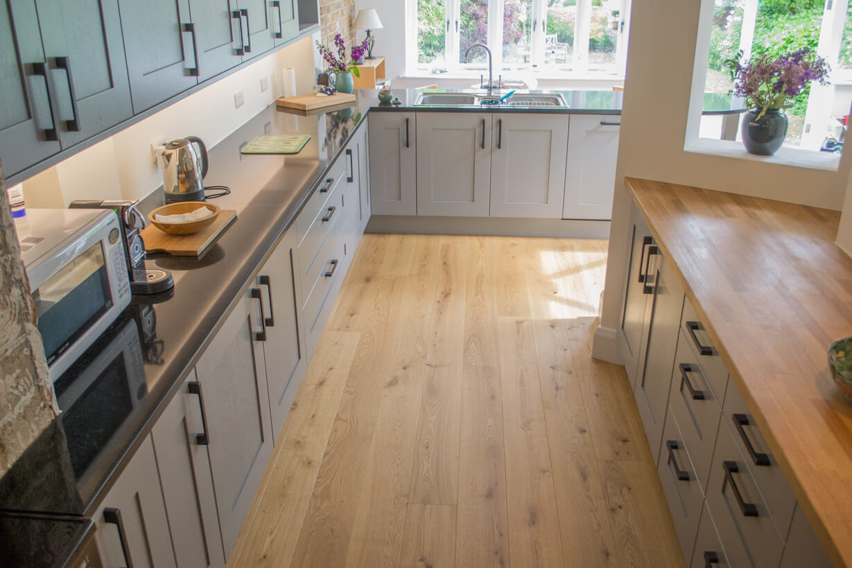 Wooden flooring for kitchens home design for Wood floors in kitchen