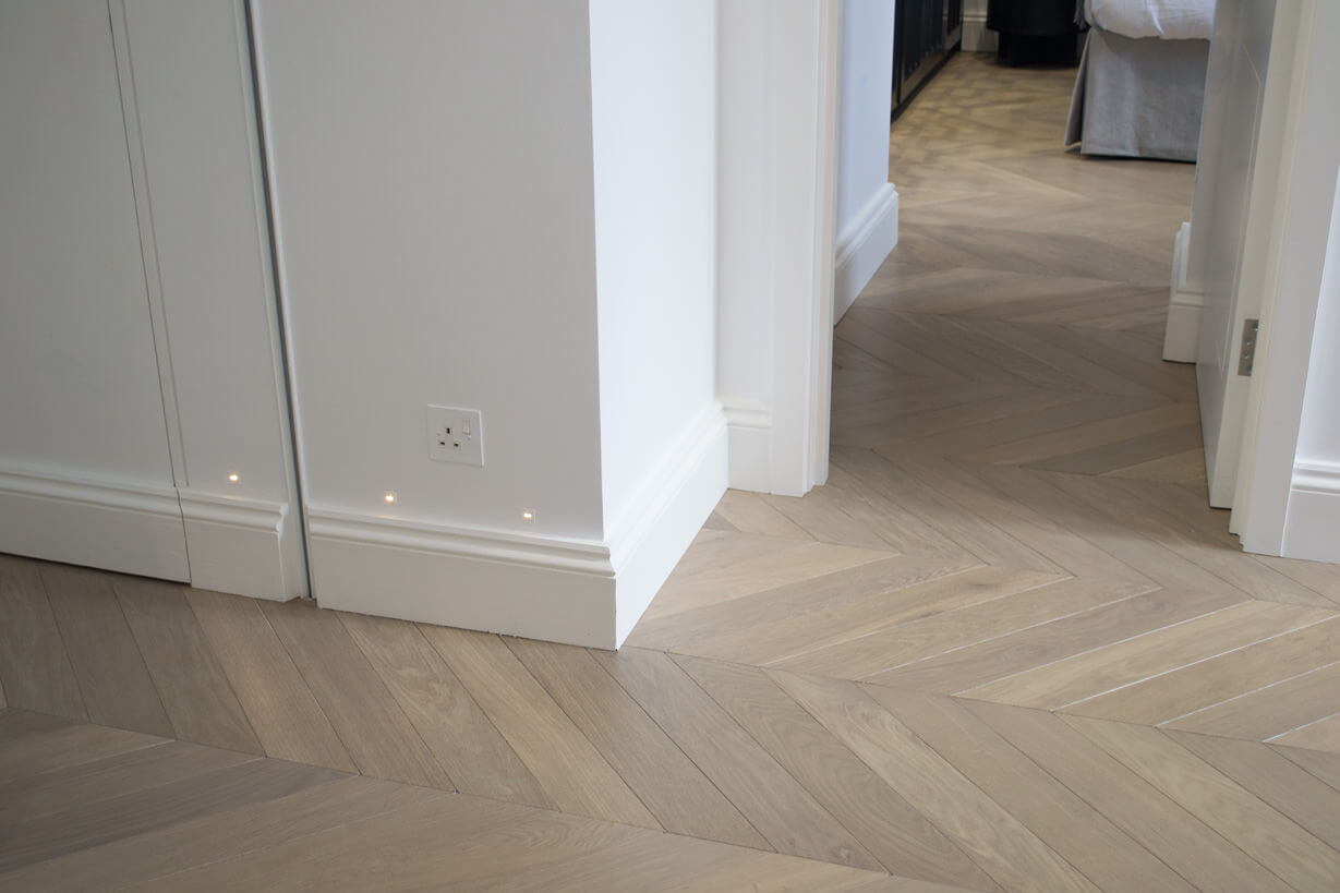 3 Oak Parquet Wood Flooring