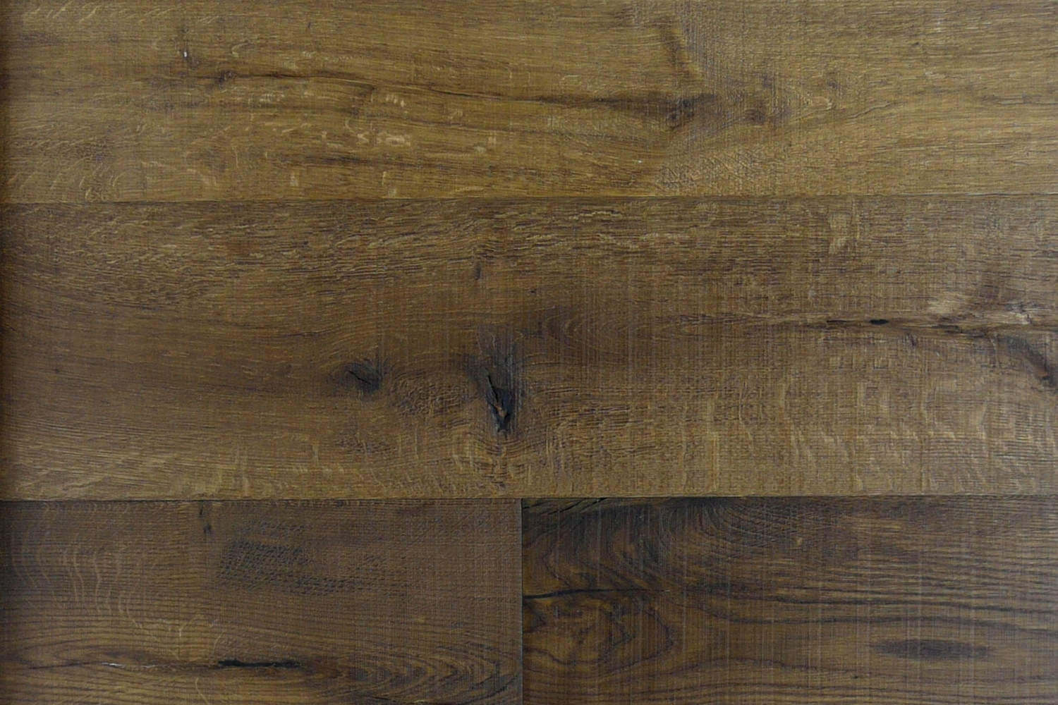 Fired Oak Rough Sawn