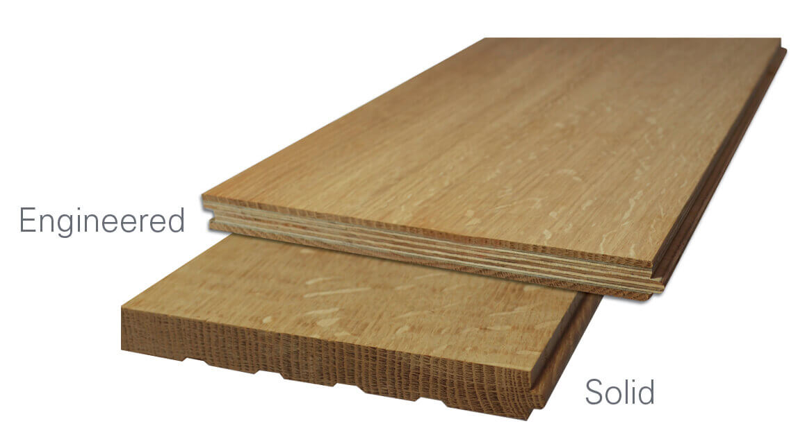 Oak news engineered flooring vs solid