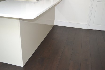 Dark Wood FLooring, Willow Rd, Hampstead, NW3
