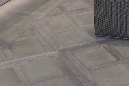Modern Parqet Pannels in Diesel Black Gold, 21 Conduit Street W1S