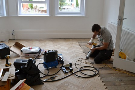European Oak Parquet, Notting Hill W11