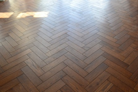 Oak Herringbone in Acton W3