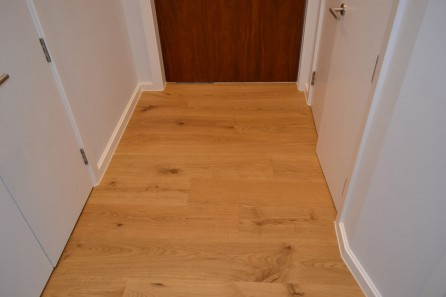 Natural Oiled Oak in Camden Town