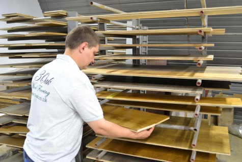 How we make your engineered wood flooring