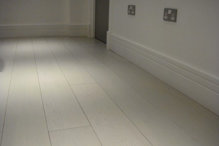 White Wood Flooring, Camden Town NW1