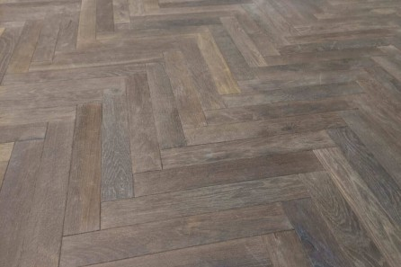 parquet floor at the National Self Build & Renovation Centre.