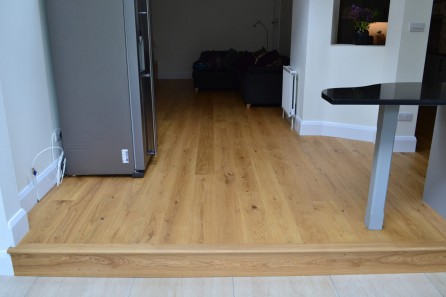 Natural Oiled Oak in Westbourne Park, London W11